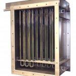 Batteries de chauffage d'air en circulation Vulcanic