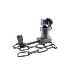 HS-C Poignée Interlock avec chaine en acier de marque distributeur IDEM Safety