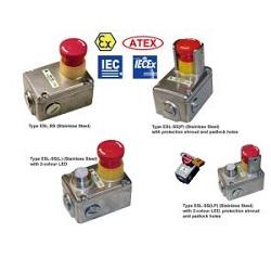 Interrupteur de sécurité ESL-SS homologué IP69k de la marque IDEM Safety
