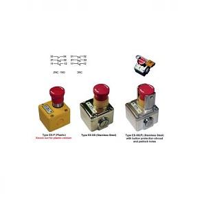 Interrupteur d'arrêt d'urgence ES-P et ES-SS IDEM SAFETY