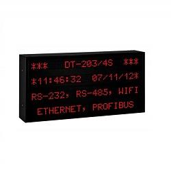 Afficheur Alphanumérique Grand format multiligne DT203NW de la marque DITEL