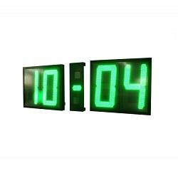 Horloge dmr80 ditel 80cm hauteur de caractère. Visibilité à très très longue distance