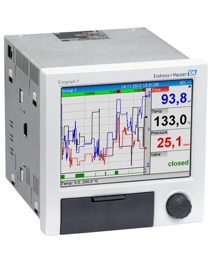 Enregistreur des données de Process RSG35 Endress Hauser pour toutes les Industries