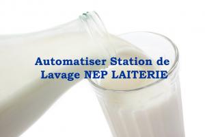 icone automatisation d'une station de lavage nep pour les Laiteries