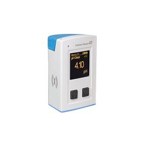 Transmetteur Portable CML18 Endress Hauser pour mesure de Temperature, Oxygene, Conductivite, pH - Redox