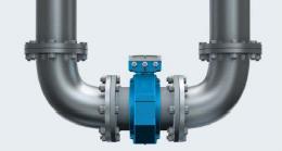 Représentation Amont et Aval de Coude pour un Débitmètre en Industrie