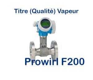 Débitmètre Vortex Prowirl f 200 Fabriqué par Endress+Hauser