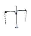 Support de capteur pour canal ou bassin CYH112 pour mesure physico chimique endress hauser