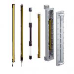 Aperçu de la gamme complète de barrières immatérielles de sécurité detem2 SICK