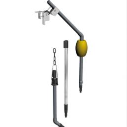 Support modulaire à immersion CYA112 Endress+Hauser pour l'eau, les eaux usées et les utilités