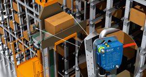 Application de détection de bacs vides avec la gamme PowerProx SICK
