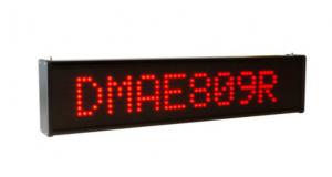 Afficheur graphique 1 ligne (7x55 pixels) DMAE809 Ditel monoculeur