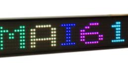 Afficheur graphique monoligne RGB DMAI616C Ditel