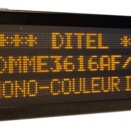 Afficheur Graphique 3 lignes monocouleur DMM3616 Ditel pour l'industrie