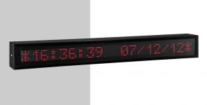 Afficheur Alphanumérique DT110/NN Ditel Profinet avec hauteur de caractère 10cm et visible jusqu'à 50 mètres