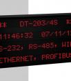 Afficheur Alphanumérique multiligne caractère 3 cm profinet DT203/NN Ditel
