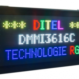 Afficheur graphique RGB DMMI3616C Ditel 3 lignes