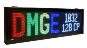 Afficheur matriciel RGB DMGE1032128C Ditel 1 à 2 ligne d'affichage pour une utilisation en extérieur