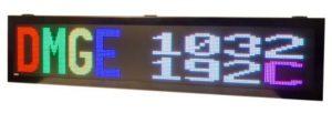Afficheur matriciel DMGE1032192C Ditel pour une utilisation en extérieur