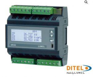 Centrale de mesure NR30 pour rail DIN Diteltec
