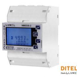 Compteur d'énergie NMID30-2 Diteltec avec une intensité jusqu'a 100A