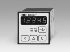 Compteur à 2 présélections NE210 Baumer
