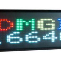 Afficheur matriciel Ditel RGB DMGI1664C de 16 x 64 pixels pour une utilisation en intérieur avec une hauteur de caractère de 55mm ou 110mm