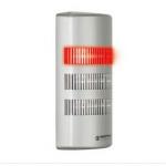 Colonne lumineuse FlatSIGN avec boîtier plat semi-circulaire et angle de vision 160°