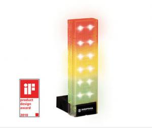 Colonne lumineuse VarioSIGN paramétrable grâce à des micro-interrupteurs pour personnaliser la signalisation optique
